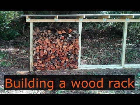 Ep #25 Building a firewood rack!