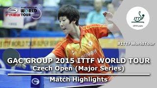 Czech Open 2015 Highlights: LEE Zion vs MORIZONO Misaki (R 1)