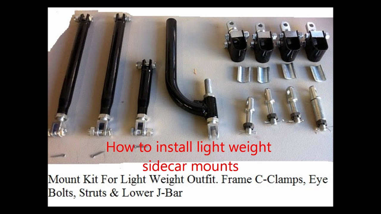 How To Set Up Mount Amp Operate A Motorcycle Sidecar Outfit