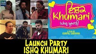 Yuvraj Hans, Mansi Sharma, Happy Raikoti, Aman Dhaliwal Interview | Ishq Khumari Movie Launch
