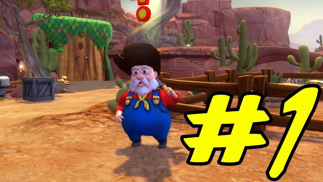 Toy Story 3 Woody S Roundup Part 1 Mayor Hamm Youtube