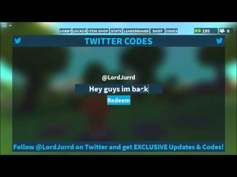 Roblox island royale codes! NEW JULY 2018 codes - YouTube