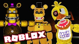 Unlocking More Secret Fnaf Roblox Animatronics! Roblox Fredbear and Friends Family Restaurant