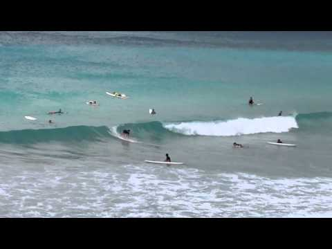 Surfing Freights Bay Barbados