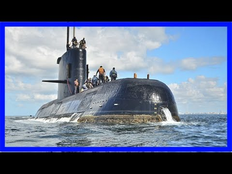 Argentina fires head of navy after submarine tragedy