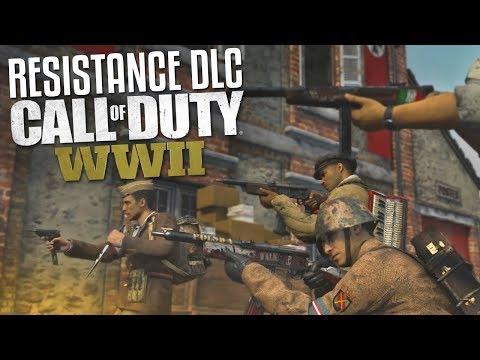 Resistance DLC Maps & WAR! (Call of Duty: WW2 Gameplay Stream)