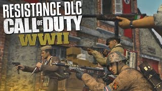 Resistance DLC Maps & WAR! (Call of Duty: WW2 Gameplay Stream)