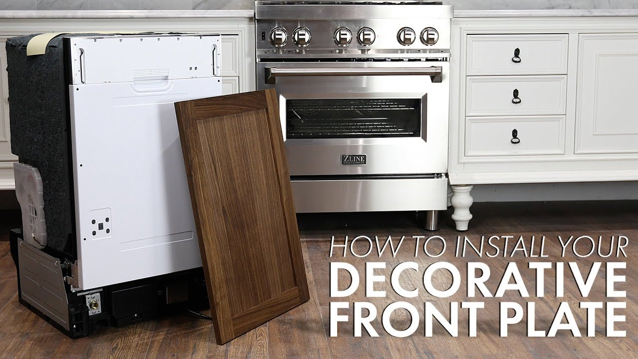 How To Install Your Custom Panel To Our Panel Ready Dishwashers