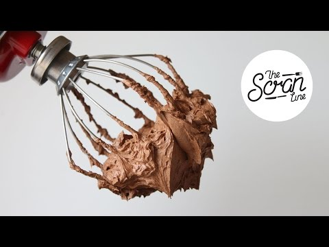 HOW TO MAKE CHOCOLATE GANACHE FROSTING - The Scran Line