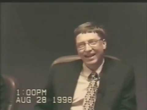 Bill Gates - Microsoft Antitrust Deposition - Highlights