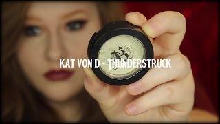 NEW Kat Von D Metal Crush Eyeshadow: Thunderstuck | Product Review | EndicottMUA
