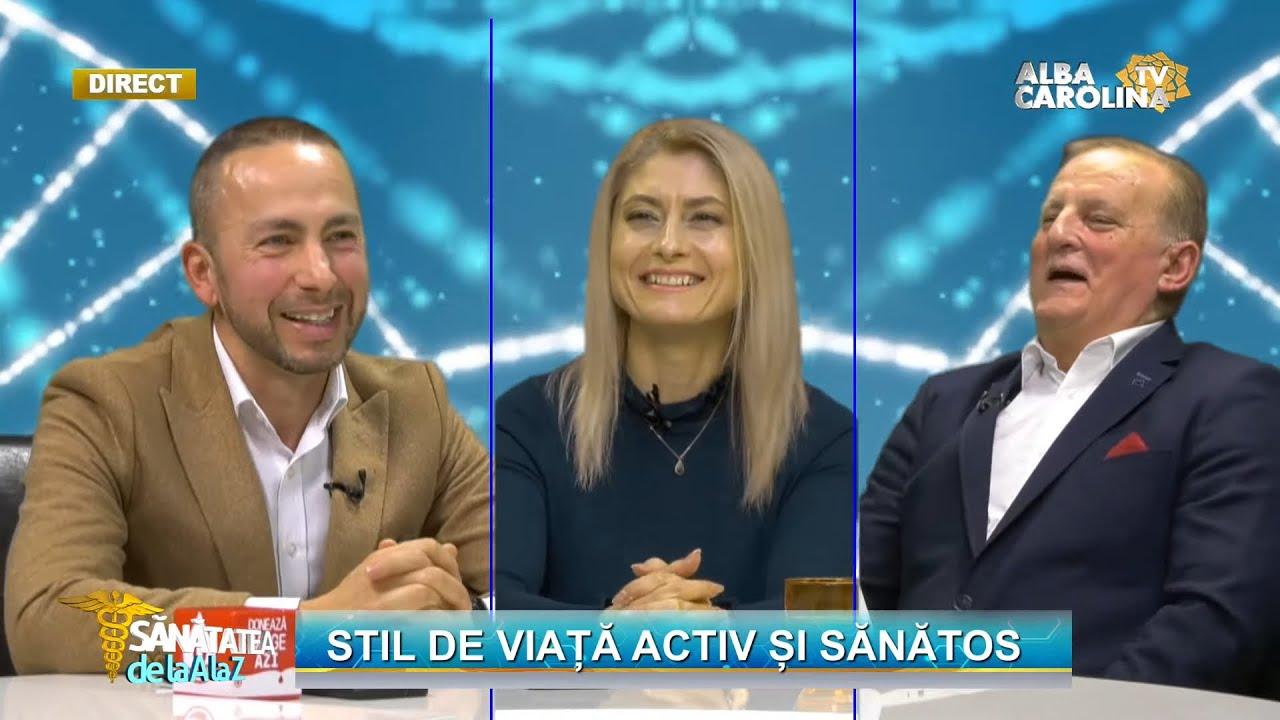 LIVE -  Antrenor wellness - un stil de viață sănătos, cu Marius Cătălin Bucur și Emilia Cioruța