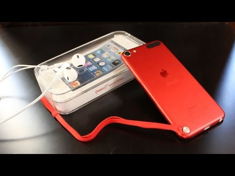 apple ipod touch 5th generation unboxing special edition