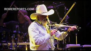 Charlie Daniels, singing country music for more than 50 years