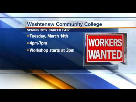 Workers Wanted: Washtenaw Community College