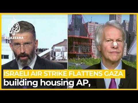 CEO of Associated Press 'shocked, horrified' over Israeli attack on Gaza bureau