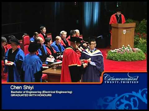 NUS Commencement 10 July 2013 C7 - Degree - Electrical Engineering
