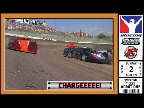 """iRacing: Chargeeee!"" (DIRTcar Limited Late Model Series at Eldora Speedway)"