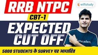 RRB NTPC Cut Off | Railway NTPC CBT-1 Expected Cut off - जानें अभी Neeraj Sir के साथ