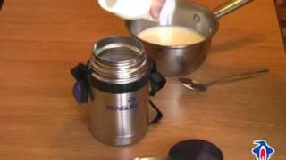 Рецепт йогурта в термосе Пингвин (Penguin)