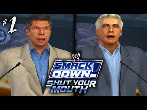 THE DRAFT!!   WWE Smackdown Shut Your Mouth (Season Mode #1)