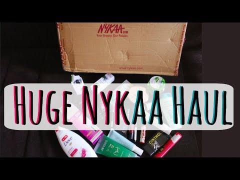 Huge Nykaa Sale Haul 2017 - Nykaa App Shopping Haul with Coupon Code | AdityIyer