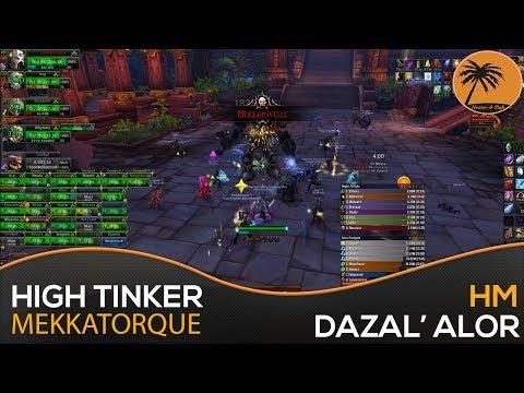 WoW BFA: HIGH TINKER MEKKATORQUE (HEROIC) [PoV: DK Tank]