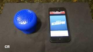 Bop Bluetooth Speaker by Brookstone: Testing Device