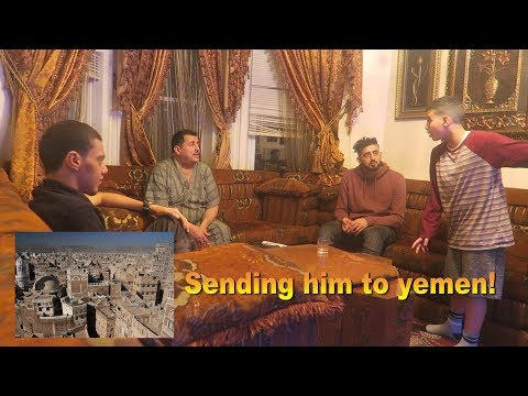 SENDING MY LITTLE BROTHER TO YEMEN PRANK!!