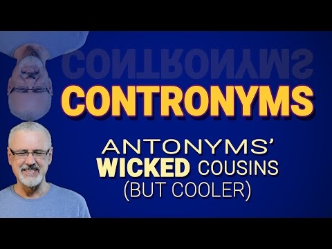 Contronyms