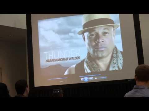 Narada Michael Walden, brief dossier, NAMM 2013, opening his Whitney Houston book talk
