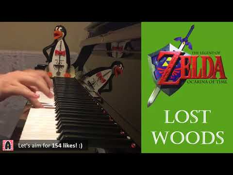 Lost Woods - The Legend of Zelda: Ocarina of Time (Piano Cover by Amosdoll)