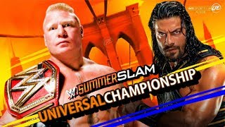 WWE Summerslam 2018 Match Card Predictions (V2)
