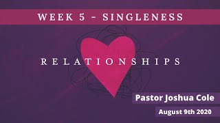 Mildura Church of Christ | Relationships | Singleness