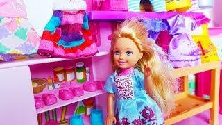 Rodzinka Barbie - Nowa Szafa Kai sukienki - bajki dla dzieci
