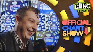 John Newman hangs out with CBBC Official Chart Show