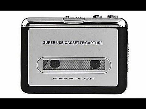 Lettore Mangianastri Convertitore Di Musicasette A MP3 con Auricolari