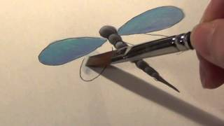 Painting a Dragonfly