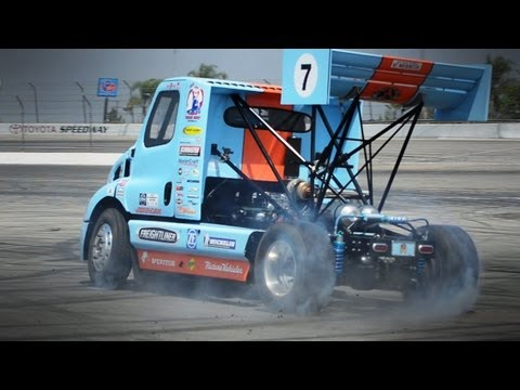 Extreme Rally Racing in a Semi Truck - Mt Washington Hill Climb and Mike Ryan