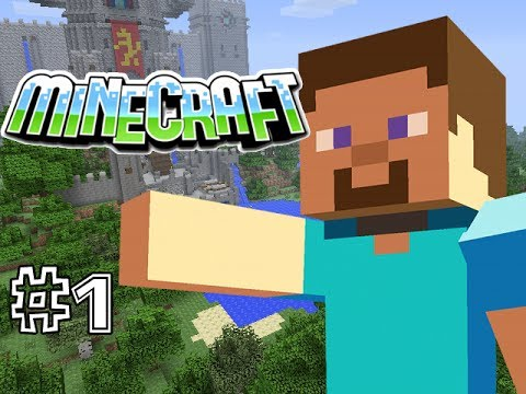 MINECRAFT PS3 - SURVIVAL - PART 1 - A WHOLE NEW WORLD