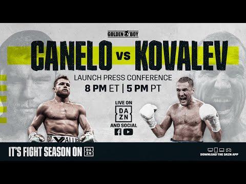 Canelo vs. Kovalev Launch Press Conference