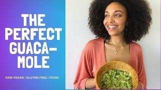 The Prefect Guacamole Vegan Recipe - The Colorful Home Cooking Show with Gabrielle Reyes