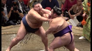 御嶽海 貴景勝 名勝負です(2018.9.15) これからの相撲界を引っ張って...