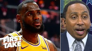 Download LeBron James lacks Michael Jordan's 'assassin' mentality – Stephen A. | First Take Mp3 and Videos