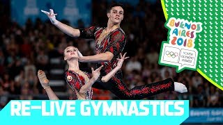 RE-LIVE | Day 09: Artistic Gymnastics | Youth Olympic Games 2018 | Buenos Aires