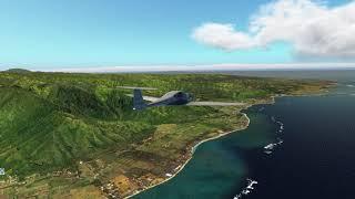 [X-Plane 11] VFR Flight Around O