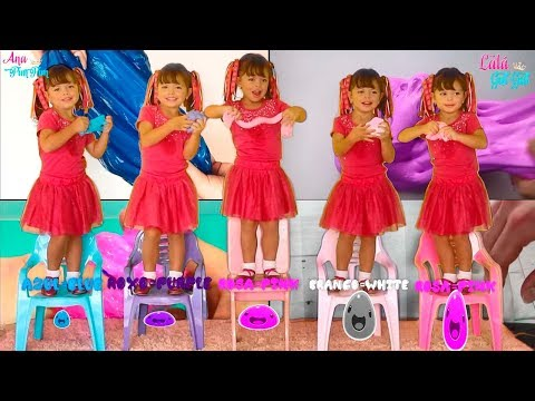 FUI CLONADA SLIME - Five little Babies Jumping on the bed song, baby songs להורדה