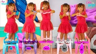 FUI CLONADA SLIME - Five little Babies Jumping on the bed song, baby songs