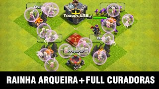 RAINHA ARQUEIRA COM FULL CURADORAS - Clash of Clans - DidiGPX
