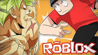 LUTANDO CONTRA O BROLY - Roblox Anime Fighting Simulator